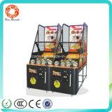 Jogos de basquetebol a fichas da arcada luxuosa interna da máquina de jogo eletrônico do campo de jogos