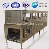 Impianto di imbottigliamento automatico delle acque in bottiglia da 5 galloni