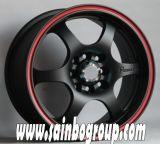 Gewehr Metal Car Alloy Wheel mit Voll-Größe