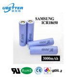 Batería recargable de la potencia de batería de la batería de litio de Samgsung 18650 3.7V