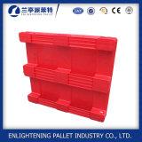 Palette en plastique de paquet solide fermé de qualité pour l'industrie