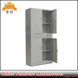 Gabinete de armazenamento do metal da gaveta do meio dois