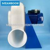Ventilador de ventilación del armario de humo del laboratorio de 300 plásticos