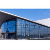 Façade de verre aluminium structurels Extrior