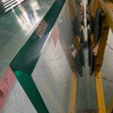 중국 제조 12mm 매우 큰 낮 철 강화 유리