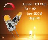 G4 할로겐 램프 Dimmable 가장 새로운 G4 LED 빛 (D01)