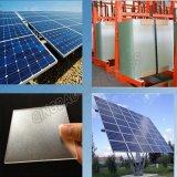 vetro Tempered del ferro basso del comitato solare di 3.2mm per i moduli di BIPV