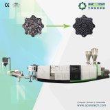 El plástico reciclado y la fabricante de máquinas de extrusión