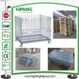 Heavy Duty Metal Galvanizado jaulas de almacenamiento