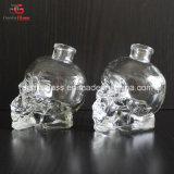 50ml kundenspezifische Schädel-Glasflasche mit Bartop