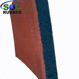 Цвет резиновой Graules Открытый резиновые плитки пола
