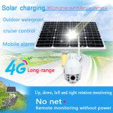 太陽エネルギーシステム32GB TFカードが付いているHD 1080P 3G 4G WiFi PTZ 5XのズームレンズCCTVのカメラ