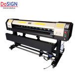 安い価格の最高速度1.6mのXP600印字ヘッドのデジタル印字機プロッターEco Solvente