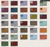 Polyester Championnat de cow-boy personnalisé imprimé drapeau avec SGS