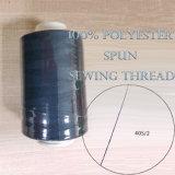 Il poliestere 100% ha filato il filato cucirino tinto 20-60s/2 di vendita calda del filetto