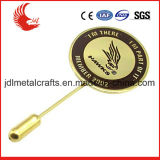 Значок Pin отворотом орла заливки формы металла цены по прейскуранту завода-изготовителя изготовленный на заказ
