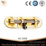 Предохранитель двери сплава цинка латунный в цвете золота (AC-3004)