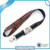 Logotipo personalizado de impressão de cordões de poliéster para promoção