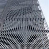 CNC Machines Perforated Sheet PVDF Aluminum Facadeによって打たれる