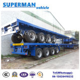 Del contenitore della base asse pratico del rimorchio 4 del camion semi per carico pesante