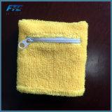 熱い販売の綿によってカスタマイズされるテリーの手首サポートは保護装置のSweatbandを遊ばす