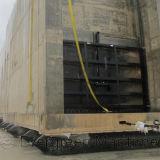 Saco hinchable de lanzamiento de la nave marina de D1.5XL18meters para el muelle