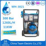 arruela elétrica de alta pressão de limpeza da indústria 300bar