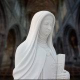 Statue Str.-Teresa, fromme Skulptur, Marmorstatue T-6424