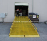 Bewegliche hydraulische LKW-Boots-Behälter-Eingabe-Rampe