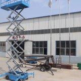 levage mobile hydraulique aérien d'homme de plate-forme de travail des ciseaux 10m