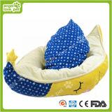 Base calda molle dell'animale domestico di figura a mezzaluna di alta qualità (HN-pH578)