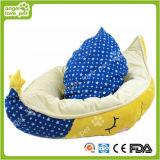 Forma de crescente de alta qualidade quente macia cama Pet (HN-pH578)