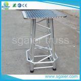 Binder-Schemel-Binder-Tabellen-Aluminiumschemel-gerade Fahrwerkbeine
