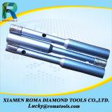 Vide de 8 mm brasé Diamond forets de base avec les dents de Proection latérale