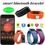 Braccialetto astuto di Bluetooth con il video di frequenza cardiaca (ID105)