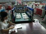 Heißsiegeln des kalter Ausschnitt-flachen Beutels, der Maschine herstellt