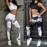 스포츠 착용을 인쇄하는 3D 디지털은 적당 요가 바지 각반 3037를 입는다