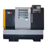 Máquina horizontal automática do torno do banco do CNC