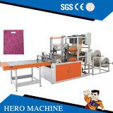 英雄のブランドの計算機制御の高速二重層のベストの圧延の袋作成機械(DZB500-800)