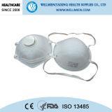 세륨 또는 Niosh에 의하여 승인되는 필터된 콘 인공호흡기
