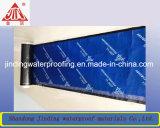 Feuille imperméable à l'eau de bitume auto-adhésif avec le papier d'aluminium