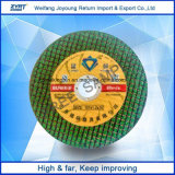 "4 "" Green Cutting Wheel with New Packing Abrasive Cutting Wheel"