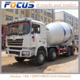 14m3 수용량 수동 디젤 엔진 자동적인 공급 시멘트 믹서 드럼 트럭 Cimc Linyu