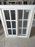 Kundenspezifisches Fenster der Größen-doppeltes schiebendes Scheiben-UPVC
