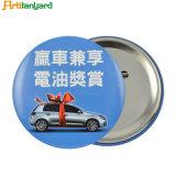 Insignia del botón de metal personalizados con logo impreso