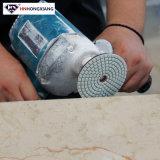 4 '' nasser Diamant-Polierauflagen für Granit und Marmor