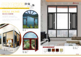 Apertura di alluminio Windows del blocco per grafici con il vetro Tempered in Sunrooms