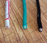 Câble en nylon de la jupe Thhn/Thwn de Weith de conducteur du certificat 2AWG d'UL d'isolation de cuivre de PVC