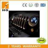 Jeep Wrangler 7-дюймовый LED фары для CREE Jeep фар LED High Low фара Jeep Jk (HG-838A)