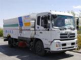 6 Vrachtwagen van de Straatveger van Dongfeng van wielen 8m3 de Droge Vacuüm